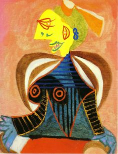 Portrait of Lee Miller by Picasso 1937