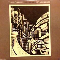 "Claus Ogerman Michael Brecker Cityscape 12""LP Rare 1982 Warner Brothers Jazz EX #Cool"
