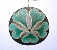 NEVERLAND Painted California Sand Dollar Ornament. $ 17.50, SeaEccentric