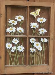 Картинки по запросу Paintings in old window frames