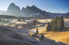Soft morning in Alpe di Siusi by Marcin Sobas - Photo 236873213 / 500px