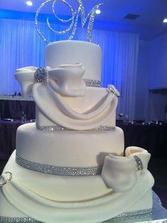 bling wedding cakes | Bling bling wedding cake!!! | May 24, 2014