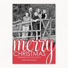 Christmas card LIke the color on the bottom with outline of same color around overflowing text