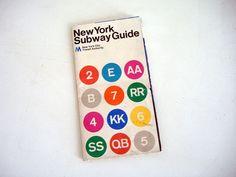 New York Subway Map (1972) - Massimo Vignelli | Flickr - Photo Sharing!