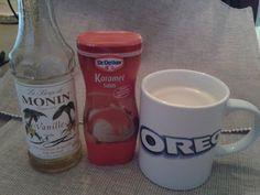 Perfekt! Mijn dag begint met een karamel macchiato koffie. Koffie met Monin Vanille Karamel saus. Super lekker