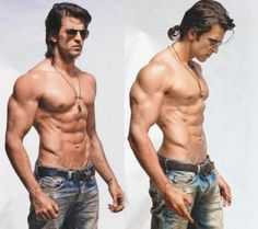 Bollywood guys are hotter than Hollywood guys.....I rest my case....Hrithik Roshan.