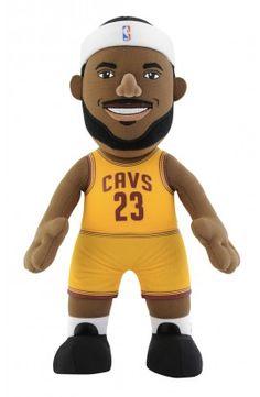 Poupluche 25 cm LeBron James (Gold Edition) - Cleveland Cavaliers - 22,00 €