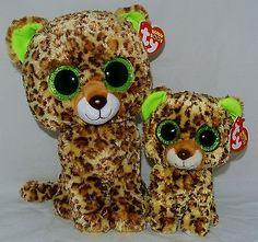 TY Beanie Baby Boos Set of 2 SPECKLES w glitter-sparkle eyes 6