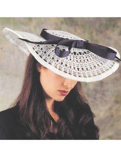 Crochet Accessories - Crochet Hat Patterns - Tisket-a-Tasket Free Crochet Hat Pattern