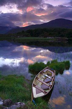 Upper Lake Killarney National Park, Killarney, County Kerry.