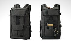 Lowepro StreetLine BP 250 Backpack - Lowepro have earned their reputation as a go-to brand for quality, professional-grade camera bags. Camera Gear, Camera Bags, Everyday Carry, Travel Backpack, Baggage, Carry On, How To Look Better, Edc, Backpacks