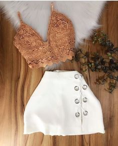 Pin by gisseeth herrera on casual clothing in 2019 Teenage Girl Outfits, Girls Fashion Clothes, Teenager Outfits, Outfits For Teens, Summer Outfits, Swag Outfits, Skirt Outfits, Chic Outfits, Pretty Outfits