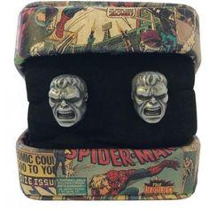 Hulk cufflinks