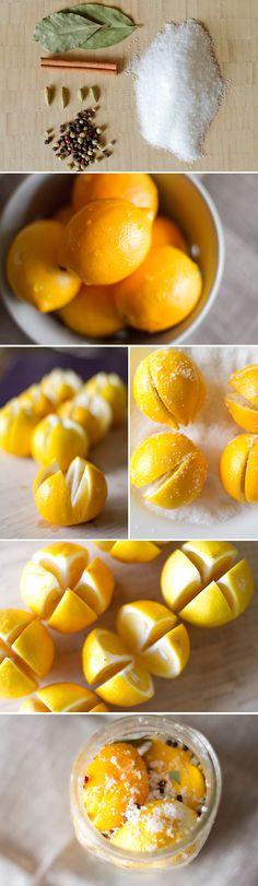 Preserved Lemons... how to  #sixoneseven