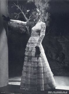 Chanel 1938 Evening Gown, Photo André Durst