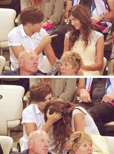 Awwwh. Lou + El = Forever Together ♥ If they break up, I will actually die.
