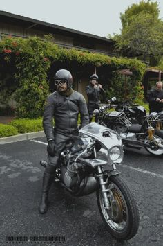 The one and only Shinya Kimura on his MV !  Source: Chabott Engineering's blog