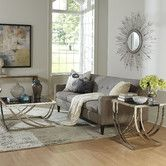 Found it at Wayfair - Palmetto Arch Curved Three Piece Coffee Table Set