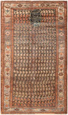 Antique Ghashgai Persian Rug 50213