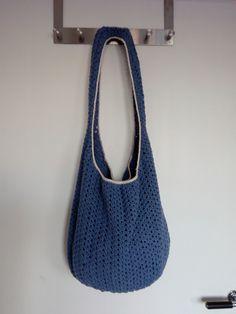 trendy crochet bag to town also to beach - trendy handmade hačkovaná taška do mesta aj na pláž