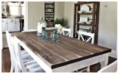 Nine Red: How To: Dining Room Table