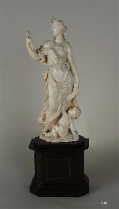 Allegory of Summer from the group of the Four Seasons  Permoser, Balthasar (sculptor)  Between Florence and Dresden, 1685-1690