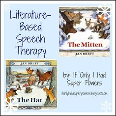 Literature-Based Speech Therapy — If Only I Had Super Powers. Sample lesson plan that uses one book for an entire month of therapy!