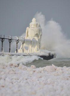 Shared from.. US National Weather Service  St Joseph Michigan. Lake Michigan