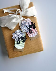 Joy Tags by Maile Belles for Papertrey Ink (November 2015)