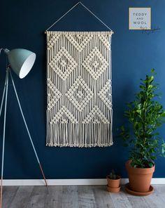 Cheap Home Decoration Stores Code: 7379231814 Macrame Wall Hanging Patterns, Large Macrame Wall Hanging, Macrame Patterns, Room Decor, Wall Decor, Diy Wall, Macrame Design, Macrame Art, Geometric Wall Art