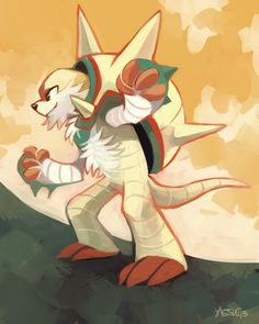 Day 6: Fave Fighting Type by yassui.deviantart.com on @deviantART (Chesnaught)