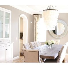 Before + after pics, plus details of this dining room up on the blog today.  Have a great day.