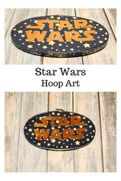 Are you a fan of the Star Wars movie series?  Here's an easy Hoop Art Project that is perfect for any Star Wars lover-- it uses the Cricut Explore.  Star Wars Hoop Art