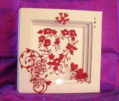 Made by Barbara Barraclough #tatteredlace #heartcard #cardmaking