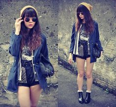 Cover and duck (by Tess Lively) http://lookbook.nu/look/4196423-cover-and-duck