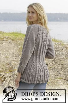 Ravelry: 156-4 Alana Cardigan by DROPS design