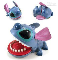Crocodile Bite Fingers Lilo Stitch Biting Finger Games Learning Education Toys Kids Shock Toy Jokes Funny Large
