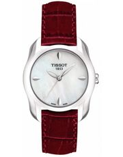 Tissot Women's T-Wave Round Mother of Pearl Leather Bracelet Watch Big Watches, Sport Watches, Cool Watches, Watches For Men, Le Locle, Deepika Padukone, Omega Watch, Bracelet Watch, Jewelry Watches