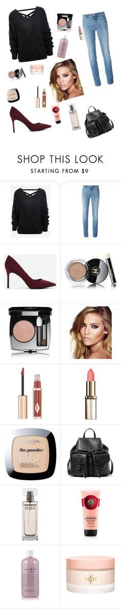 """November full day look"" by courtneyholden ❤ liked on Polyvore featuring Givenchy, CHARLES & KEITH, Chanel, Charlotte Tilbury, L'Oréal Paris, Steve Madden, Calvin Klein, philosophy and Yves Saint Laurent"
