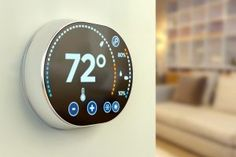 Smart Thermostats Works in a programmable way. Smart thermostats are affordable and are eager to pay for it for about 3 months Home Design, Home Thermostat, Diy Generator, Smart Home Technology, Diy Home, Home Gadgets, Home Upgrades, Home Repairs, 3d Prints