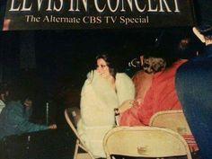 Ginger alden at concert Elvis.