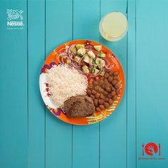 ¿Ya sabes armar tu plato balanceado? Envíanos tus fotos con el #Alalcancedetusmanos y participa por 3 canastas de productos Nestlé y 2 libros de cocina.