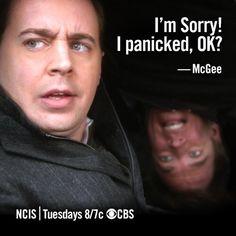NCIS, McGee & Tony, very funny
