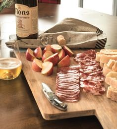 Get inspired by our array of snacks on a cutting board in our second magazine page 43.