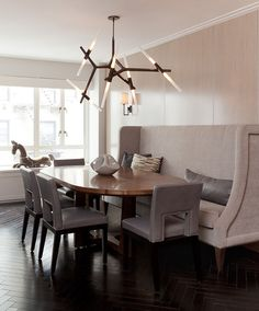 Agnes Chandelier with 10 bulbs in bronzePhoto by Emily GilbertInterior by Darci Hether