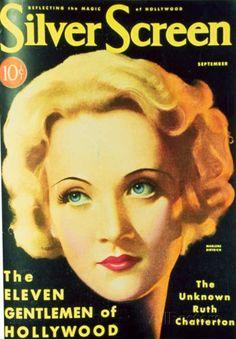 Marlene Dietrich - Silver Screen Magazine Cover 1930's Masterprint at AllPosters.com