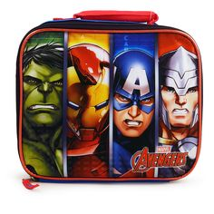 Marvel Avengers Insulated Lunch Bag