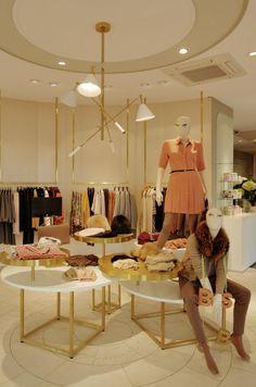 luxuriöse und stylische pendelleuchte in weiß und gold messing <3