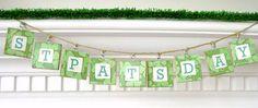 st patty's banner