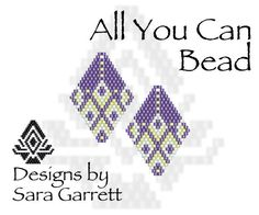 A personal favorite from my Etsy shop https://www.etsy.com/listing/523847559/peyote-earrings-pattern-119-bead-weaving